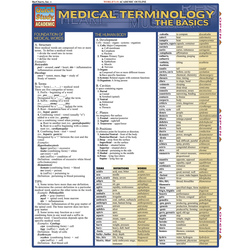 QuickStudy Medical Terminology: The Basics