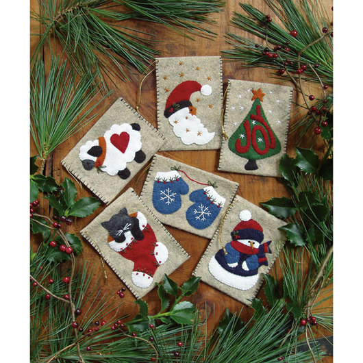 Ornament Sewing Kit - Gift Bag