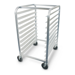 10-Tier Aluminum Bun Pan Rack