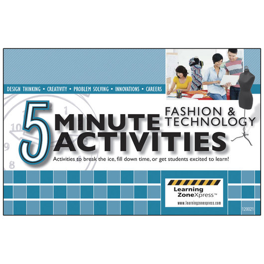 5 Minute Fashion And Technology Activities Books Clothing Constructions Fashion Design Family Consumer Sciences Education Supplies Nasco