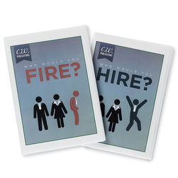Who Would You Hire & Who Would You Fire? Set of Interactive DVDs