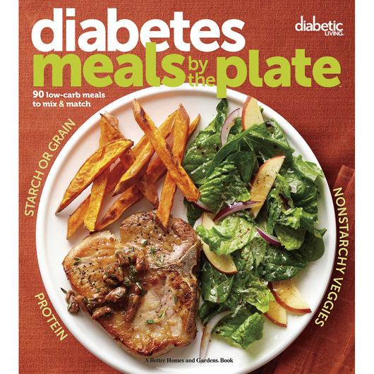 Diabetes Meals by the Plate: 90 Low-Carb Meals to Mix & Match