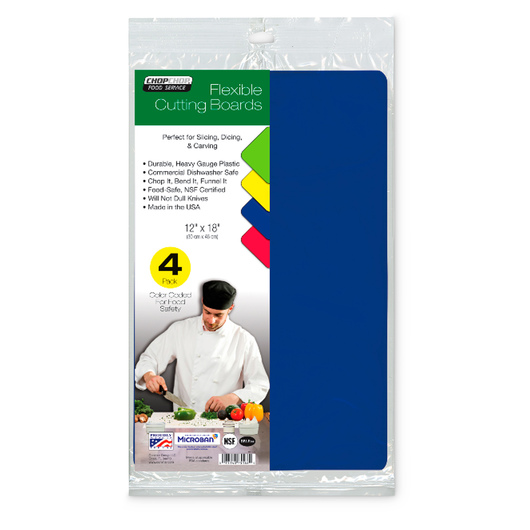 Chop-Chop® Colored Flexible Boards - Set of 4