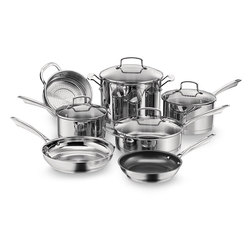 Cuisinart Professional Series 11-Piece Stainless Cookware Set