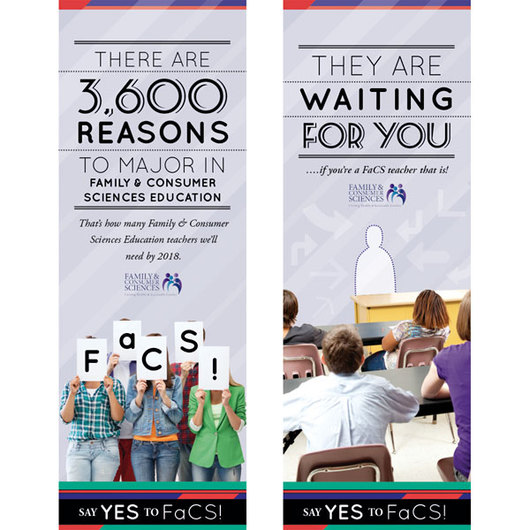 Say Yes to FACS Posters - Set II