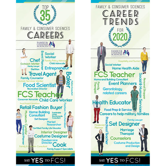Facs Careers Poster Set Charts Posters General Family Consumer Sciences Family Consumer Sciences Education Supplies Nasco