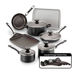 Farberware® High Performance 17-Piece Cookware Set - Black