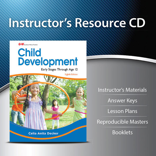 Child Development: Early Stages Through Age 12 - Instructor's Resource CD-ROM