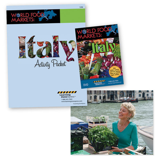Italy - World Food Markets DVD and Activity Packet