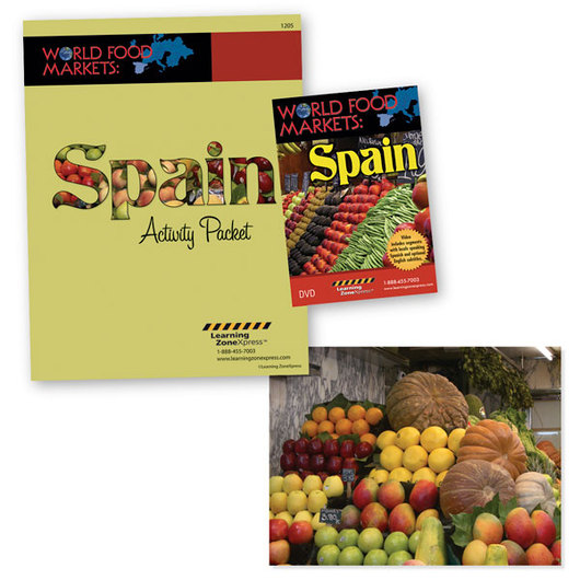Spain - World Food Markets DVD and Activity Packet