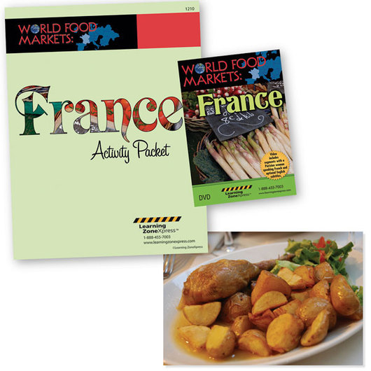 France - World Food Markets DVD and Activity Packet
