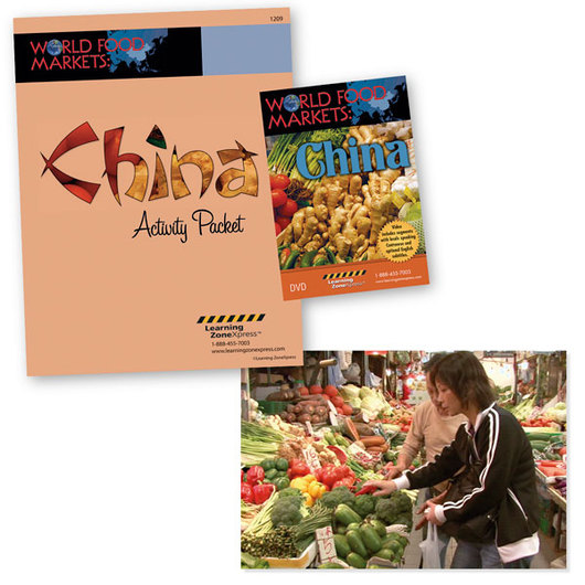 China - World Food Markets DVD and Activity Packet