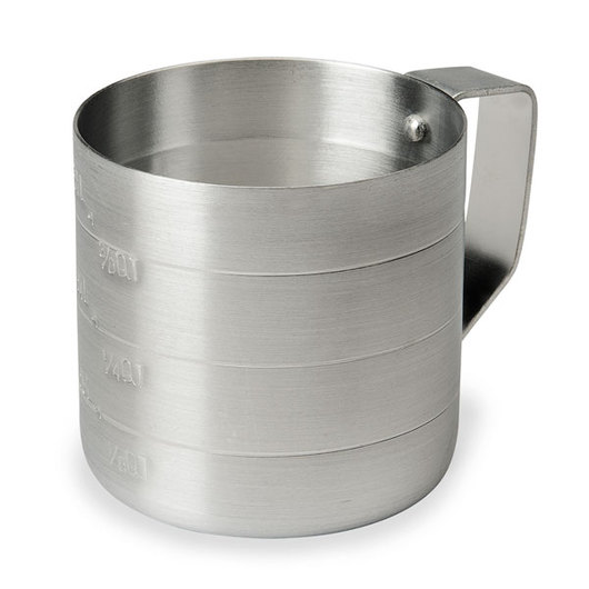 Aluminum Measuring Cup - 1/2-Quart