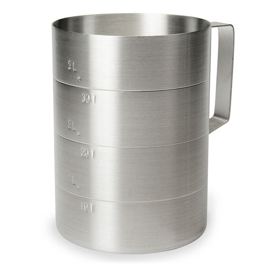 Aluminum Measuring Cup - 4-Quart