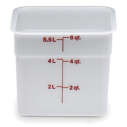 Cambro® CamSquare® Food Storage Containers - 6 Qt.