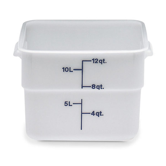 Cambro CamSquare Food Storage Containers 12 Qt Storage