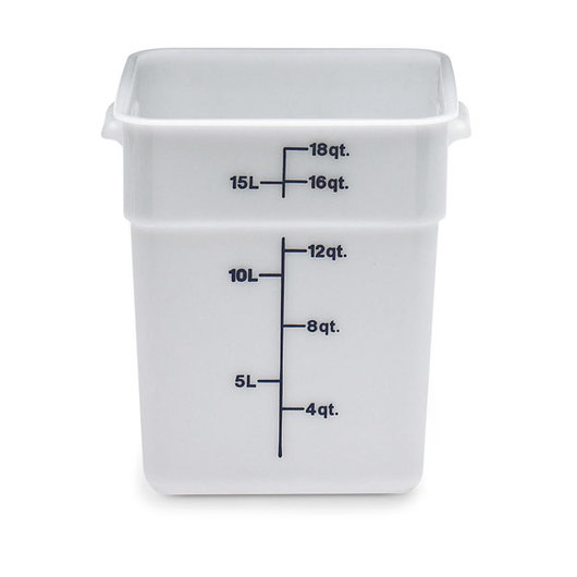 Cambro® CamSquare® Food Storage Containers - 18 Qt.