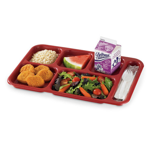 Cambro® Budget Compartment Tray - Red