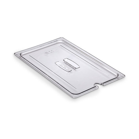 Camwear® Polycarbonate Notched Lid With Handles - Full-Size Pan