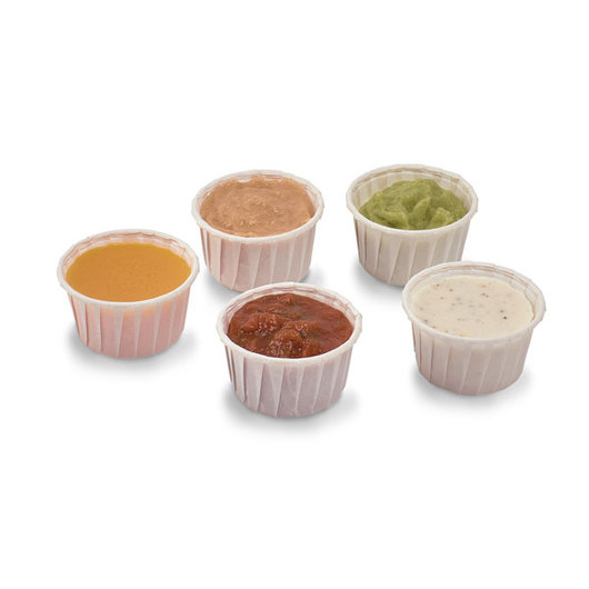 Nasco Dipping Sauces Food Replica - Set of 5
