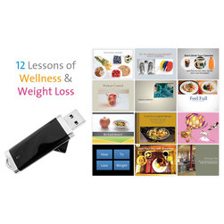 12 Lessons of Wellness and Weight Control Weight Loss Program