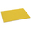 Cutting Board - 12 in. x 18 in. - Yellow