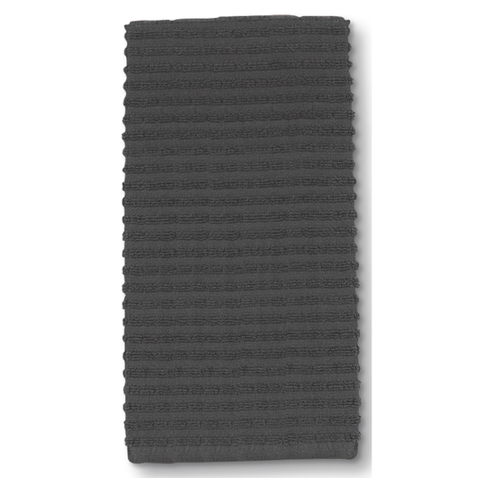 Ritz® Royale Kitchen Towels - 18 in. x 28 in. - Pack of 6 - Graphite