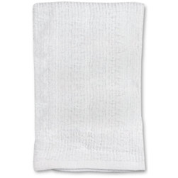 Bar Mop Kitchen Towels - 16 in. x 19 in. - Pack of 3 - White