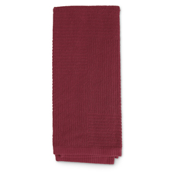 Double-Ribbed Terry Kitchen Towels - Pkg. of 6 - Red