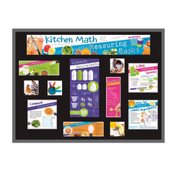 Kitchen Math: Measuring Basics Bulletin Board Kit
