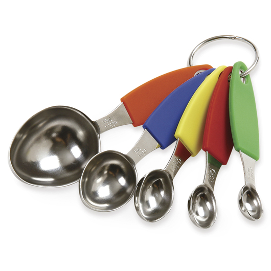 Stainless Steel 5-Piece Measuring Spoons Set