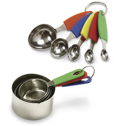 Stainless Steel Measuring Complete Set