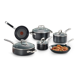 T-fal Pro-Grade Titanium 10Piece Induction Cookware Set