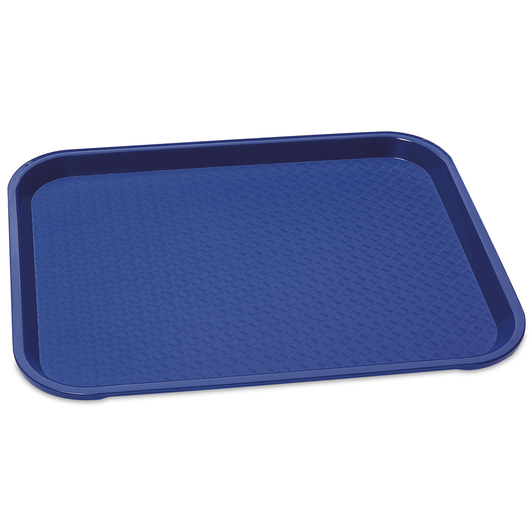 Vollrath® Fast Food Tray - 10 in. x 14 in. - Royal Blue