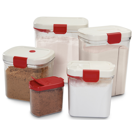 Progressive® Keeper Canisters - Five-Piece Set