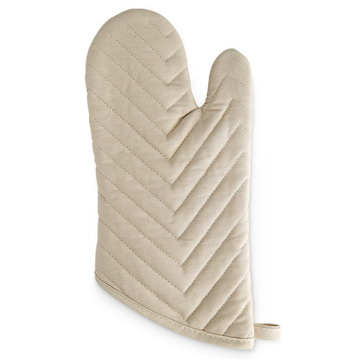 Quilted Oven Mitts - Pkg. of 6 - Tan
