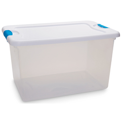 Latch Box Clear Storage Container