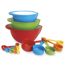 Mixing Bowl and Measuring Set, 13-Piece