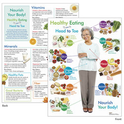 Healthy Eating from Head to Toe for Older Adults Tablet - 8-1/2 in. x 11 in. - 50 Double-Sided Sheets