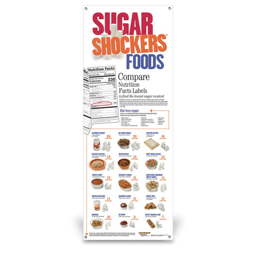 Sugar Shockers™ Vinyl Banner without Stand - 24 in. x 63 in.