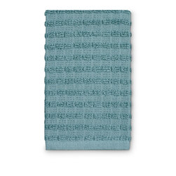 Ritz Royale Dishcloths - 12 in. x 13-3/4 in. - Pack of 6 - Aqua
