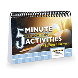 5-Minute Education Activities for Future Teachers