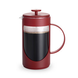 BonJour® Coffee Ami-Matin 8-Cup French Press - Red