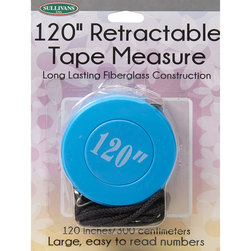 120 in. Retractable Tape Measure