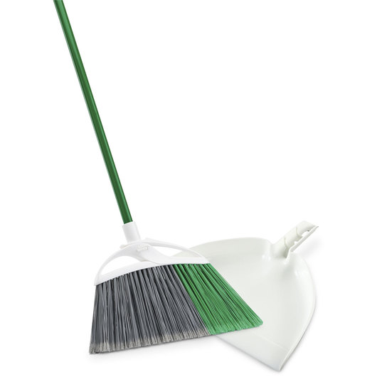 Libman® Extra Large Precision Angle® Broom with Dustpan