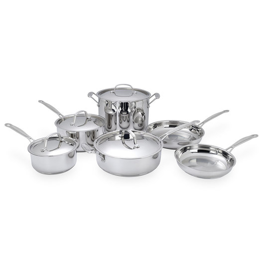 Chef's Classic™ Stainless Cookware - 10 Piece Set