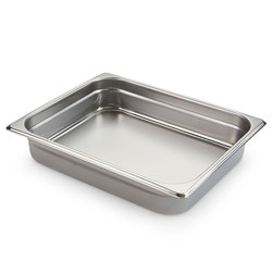 Half-Size Steamtable Pan - 22-gauge - 12-7/8 in. x 10-1/2 in. x 2-1/2 in.