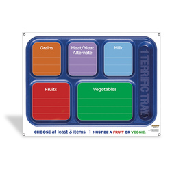 1 Terrific Tray Dry-Erase Menu Board