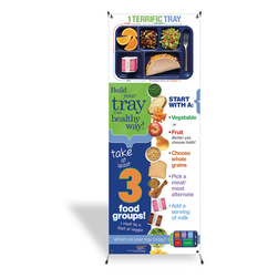 1 Terrific Tray Banner with Stand