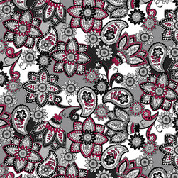 Bali Beauty Fabric by the Bolt - Floral